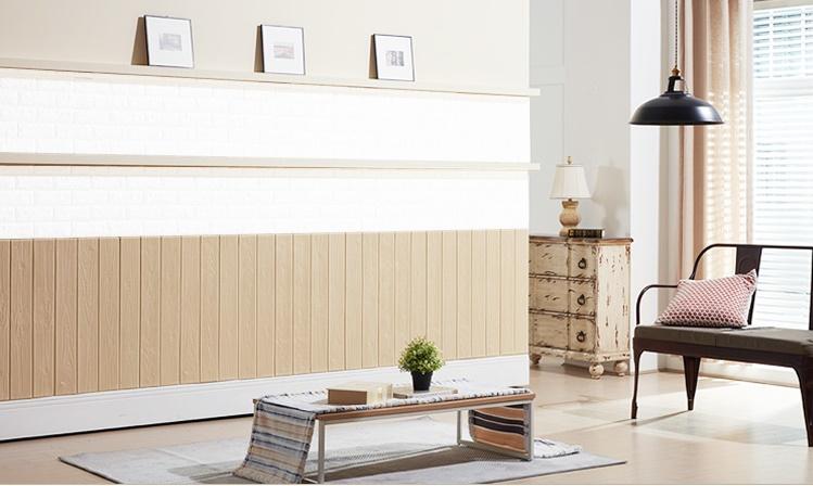 Xốp dán tường 3d giả gỗ kích thước 70 x 77cm sỉ lẻ giá rẻ nhất tại tphcm