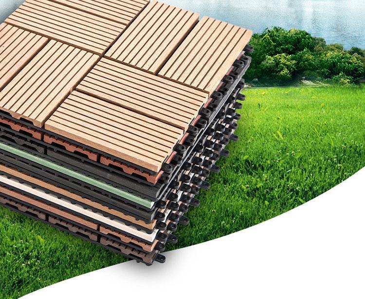 Sàn gỗ nhựa ngoài trời 2